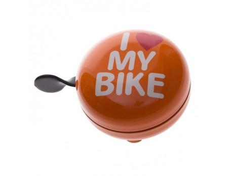 Fietsbel Ding Dong I love my bike