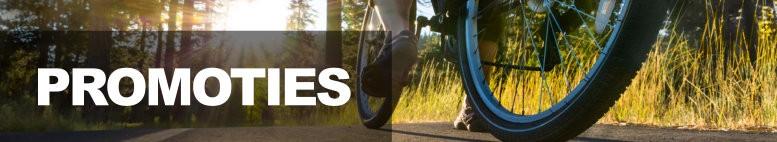 Promoties fietsen en accessoires